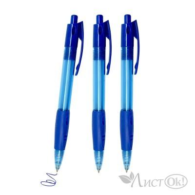 Ручка синий стержень,0,7мм,атомат 8775-1 J.Otten