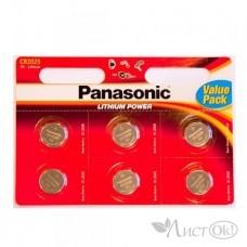 Батарейка 2032 Panasonic Power Cells (6*Bl) (6/120)  цена за 1шт