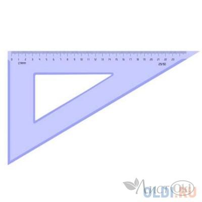 Треугольник 30°х23см прозр.тонир. ТК56 Стамм