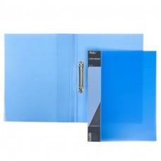 Папка на 2-х кольцах 25мм А4 DIAMOND полупрозр. синяя, 2AB4_02009 / Hatber /1 /0 /20 /0