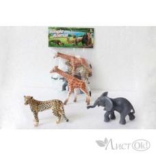 Набор диких животных в пакете 3шт 2A003 Play Smart