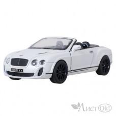 Игрушка маш. металл 1:38 инерц Bentley Continental Supersports Convertible KT5353D Kinsmart