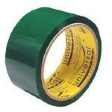 Клейкая лента 50х66Y зел. 13281 / чел02123 Universal