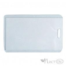 Бейдж 2107 вертик.без шнура,6,5*10см,прозрачная вставка,пластик J.Otten /20 /200 /6000 /0