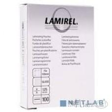 Пленка д/ламин. Lamirel 75x105 125мк 100шт. LA-78663 цена за 1шт Fellowes /0 /0 /0 /0