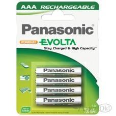 Аккумулятор R3 Panasonic Evolta (4*BL) 750 mAh (NiMH) (4/48) 22845 цена за блистер /5 /24 /600 /0