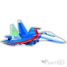 Плакат вырубка Самолет//ФМ1-9359/мини Сфера