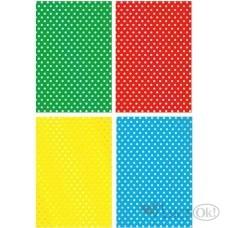 Картон цветной 4л. А4 поделоч. с тиснен.