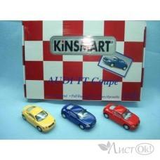 Игрушка KT5016D Кинсмарт Audi TT Coupe мет., инерц. модель машины 1:32 в дисплее 12 шт. Kinsmart /0 /0 /72 /0