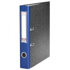 Папка-рег. 50мм мраморная синяя 5ПР_00309 Hatber