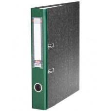 Папка-рег. 50мм мраморная т-зеленая 5ПР_00312 Hatber