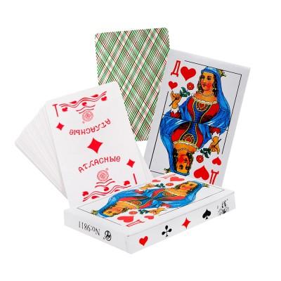 Карты игральные 9811 Атласные 36шт, пласт.покрытие J.Otten /10 /0 /120 /0