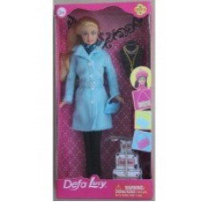 Кукла 29см с аксес. в коробке 3 вида 8293 Defa Lucy
