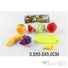 Набор фрукты на липучках в пакете 610A Поварёнок