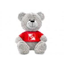 Игрушка Арт.1141 Медведь в кофточке с сердечками муз. 23см (66ш/к) / Lava