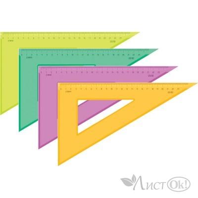 Треугольник 30°х23см прозр. ТК54 Стамм
