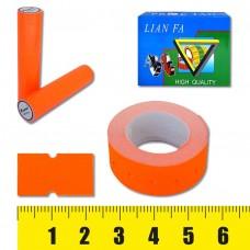 Ценник-лента ,12х22мм, 500шт, оранжевая флюо 5222-1 J.O.