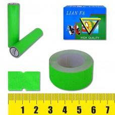Ценник-лента 5222-2 , 12х22мм, 500шт, салатовая флюо J.O. /10 /100 /1000