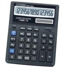 Калькулятор 16 разр. 203,5*158*31,5мм SDC-435II/N CITIZEN
