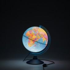Глобус Политический 250мм Классик с подсветкой. Евро КE012500190 Глобен