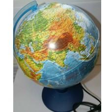 Глобус Физический 250мм Классик с подсветкой Евро КЕ012500189 Глобен