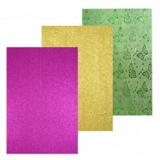 Бумага для скрапбукинга гологр., А4, 250гр/м, с липким слоем, цена за 1 лист 7155 J.Otten