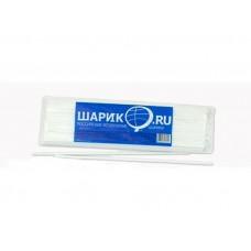 Палочка для возд. шаров Белая. (цена за 1шт) 1302-0031 Веселая затея