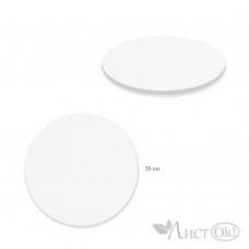 Холст грунтованный на подрамнике 1069-30см Круглый, лён  /1 /0 /50