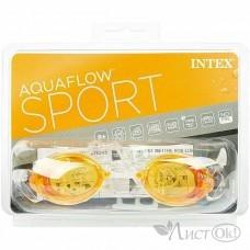 Спорт Очки для плавания Sport Relay 3 цвета от 8 лет 55684 (И55684) INTEX