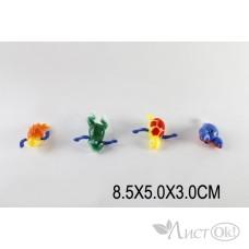 Игрушка заводная 6042 Животные 8,5см в пакете 4 вида / Лапушка /1 /0 /400 /0