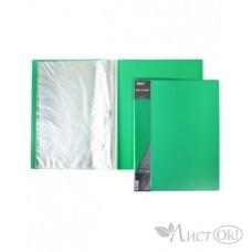 Папка 10 файлов Standard 600 мкм зеленая 9мм 10AV4_00107 Hatber