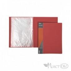 Папка 10 файлов Standard 600 мкм красная 9мм 10AV4_00115 Hatber