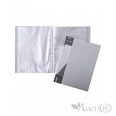 Папка 10 файлов Standard 600 мкм серая 9мм 10AV4_00114 Hatber
