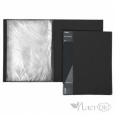 Папка 10 файлов Standard 600 мк черная 9мм 10AV4_00101 Hatber /0 /0 /50 /0