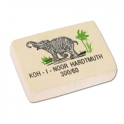 Ластик KOH-I-NOOR 300/60, белый /60 /0 /480 /0
