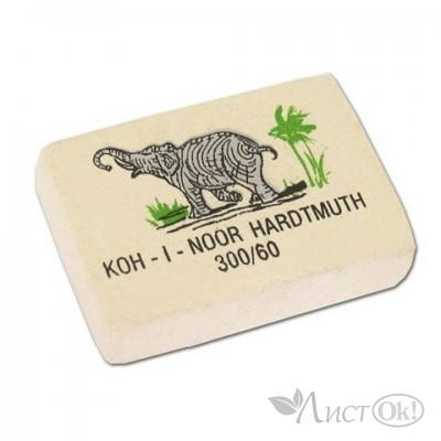 Ластик ELEPHANT белый 30*20*8мм 300/60 Koh-I-Noor