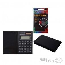 Калькулятор карманный, 8-разрядный, в чехле, 6.5х10.5см. МХ-8200 METRIX