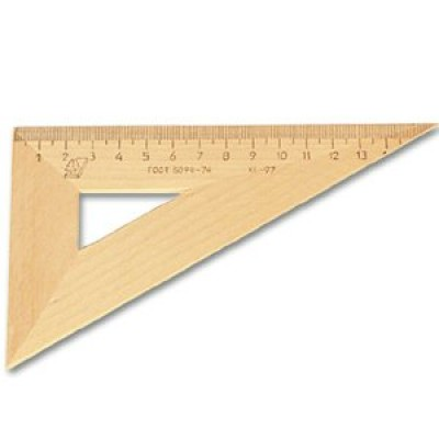 Треугольник деревянный 30*160, с139, /Красная Звезда /50 /0 /750 /0