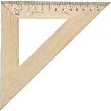 Треугольник деревянный 45°х16см С16 Можга