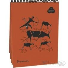 Бумага для пастели А4 30л Блокнот сп.Premium Terracotta 40% хл.160г/м БРr-9517 / Лилия /1 /0 /5 /0