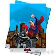Праздник /Скатерть. Бэтмен против Супермена/120*180 см/ Поиск /1 /0 /1 /0