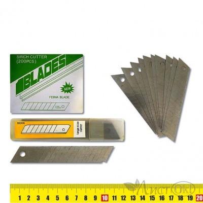 Лезвие для ножа , набор 10шт 18мм, 9247 J.Otten