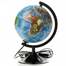 Глобус Физический 210мм Классик с подсветкой К012100009 00010 Глобен