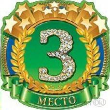 Медаль . 3 Место//32584/ Праздник /1 /0 /20 /0