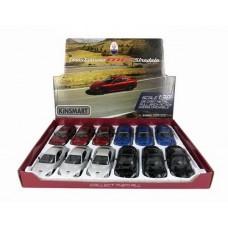 Игрушка Кинсмарт 2016 Maserati GranTurismo MC Stradale мет., инерц. модель машины в дисплее 12 шт. KT5395D Kinsmart