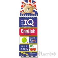 Игра со шнурком IQ English. Растения /26686/ АЙРИС /1 /0 /36 /0