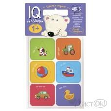 Игра IQ Мягкие игры. Вкладыши. Цвета и формы / 26007 / АЙРИС