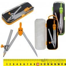 Готовальня-циркуль с карандашом, пласт.футл., европ S55002 J.Otten