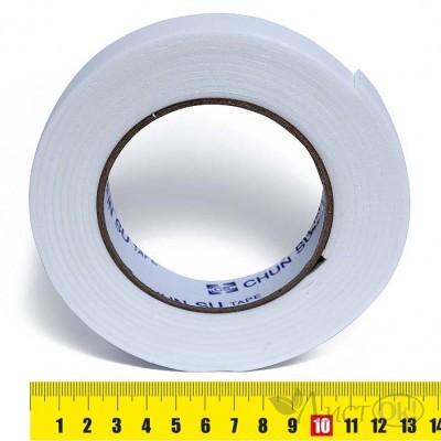 Клейкая лента двусторонняя 2,5СМх4М, вспененная основа, полиэстер 25148-1 J.Otten