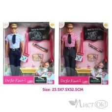 Набор кукол 2шт с аксессуарами. в коробке, 2 вида 8368 Defa Lucy